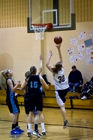 Nekoosa AMS vs. Dells Girls B-Ball 2012 (8th Grade) 01-27-12