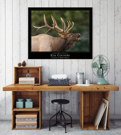 ELK COUNTRY Desk Mockup