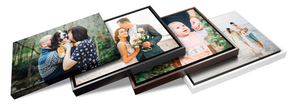 Canvas Frame Sample Colors