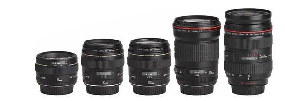 Lens Lineup Comparisons
